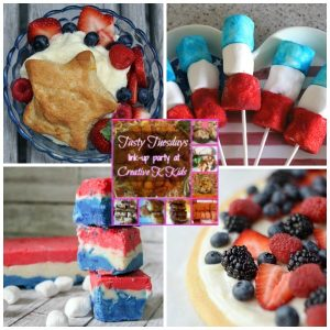 Tasty Tuesdays' Link Party: Fourth of July Edition