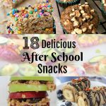 Back to School 18 Delicious After School Snacks