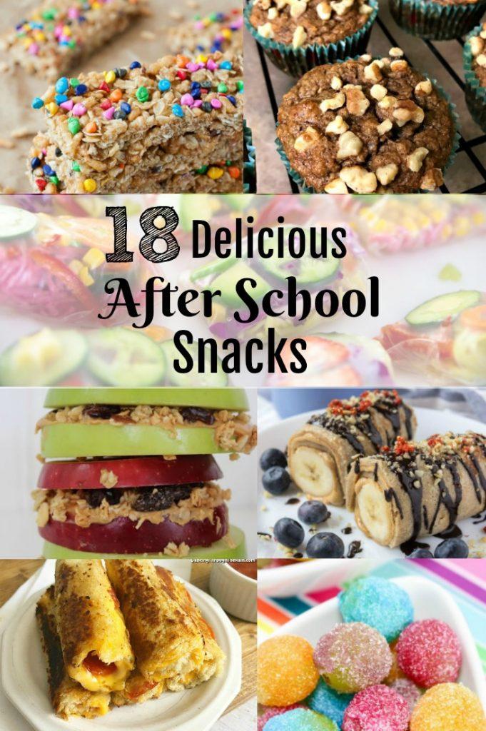 Back to School 18 Delicious After School Snacks