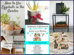 Happiness is Homemade Link Party: Home and Garden DIY Inspiration