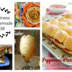 Happiness is Homemade Link Party:  Fun Foods for Your Week