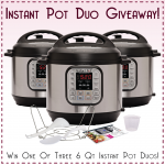 Giveaway! You Could Win an Instant Pot Duo!