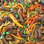 Sheet Pan Steak Fajitas feature