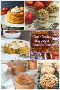 Tasty Tuesdays' Link Party: Apples or Pumpkins?