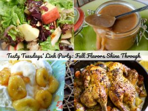 Tasty Tuesdays' Link Party: Fall Flavors Shine Through