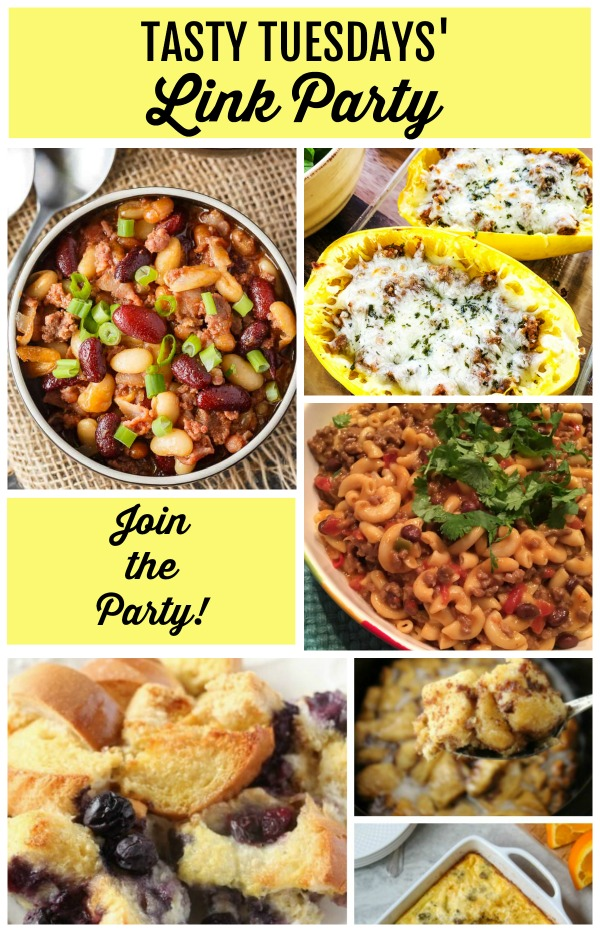 Tasty Tuesdays' Link Party features 10-2