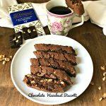 Chocolate Hazelnut Biscotti – #Choctoberfest