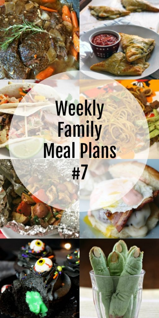 Weekly Family Meal Plans #7