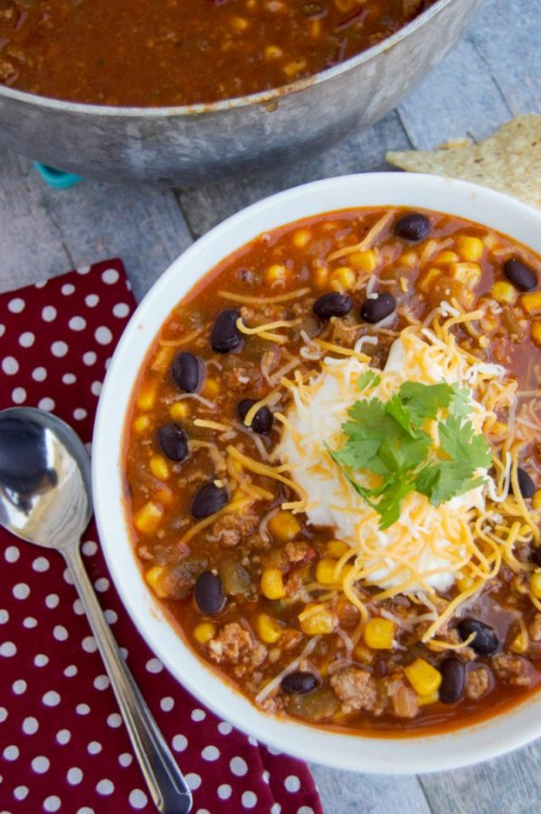 Taco-Soup Diary of a Real Housewife