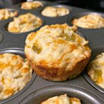 Cheesy Chili Muffins – #PinterestChallenge