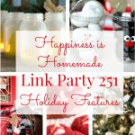 Happiness is Homemade Link Party: Holiday Wonderfulness