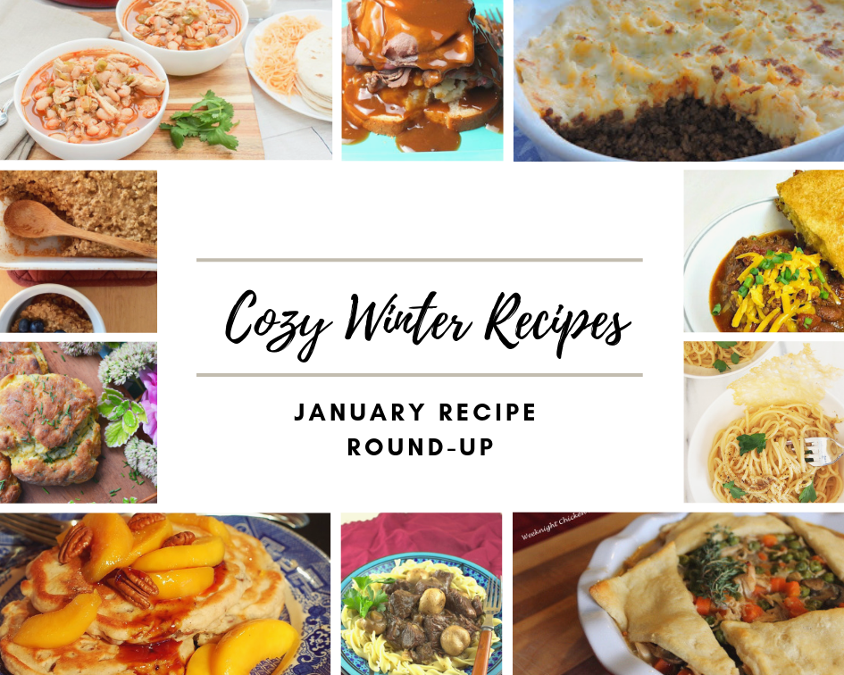 Happy New Year, everyone! Fellow bloggers and myself are planning monthly themed recipe round-ups in 2019. We are all excited to share recipes with you each month to help you meal plan and prepare for upcoming holidays, seasons, etc. through the year.