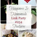 It's time for Happiness is Homemade Link Party and we're so glad you're joining us! We've got the best recipes, DIY projects, crafts, home decor ideas, and so much more.#HappinessIsHomemade