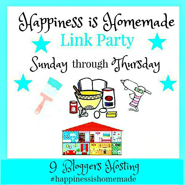 Happiness is Homemade Link Party logo