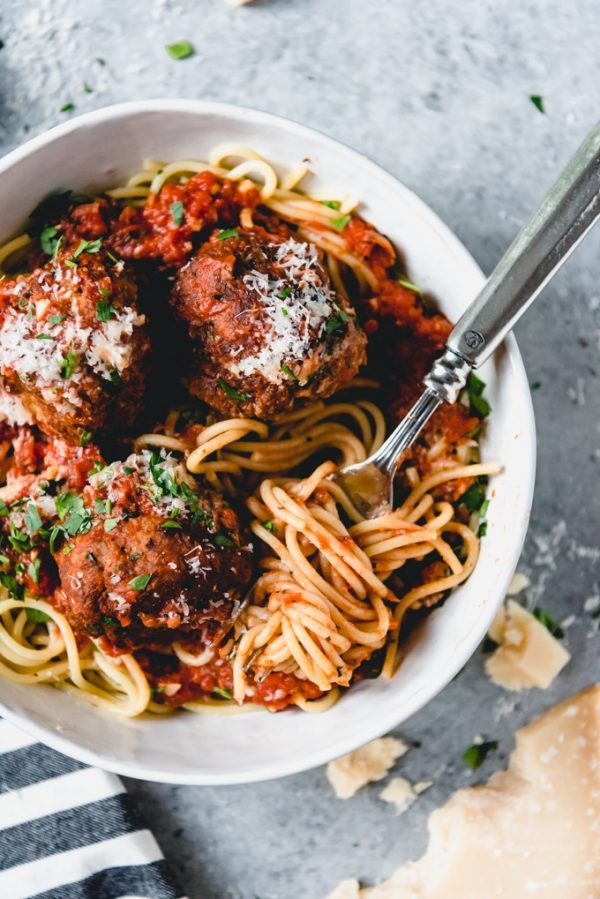 The Best Spaghetti and Meatballs from House of Nash