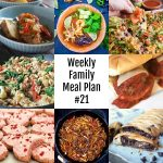 Here's this week's Weekly Family Meal Plan!