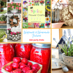 Spring has Sprung on Happiness is Homemade Link Party