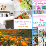 Let's Get Crafty on Happiness is Homemade Link Party