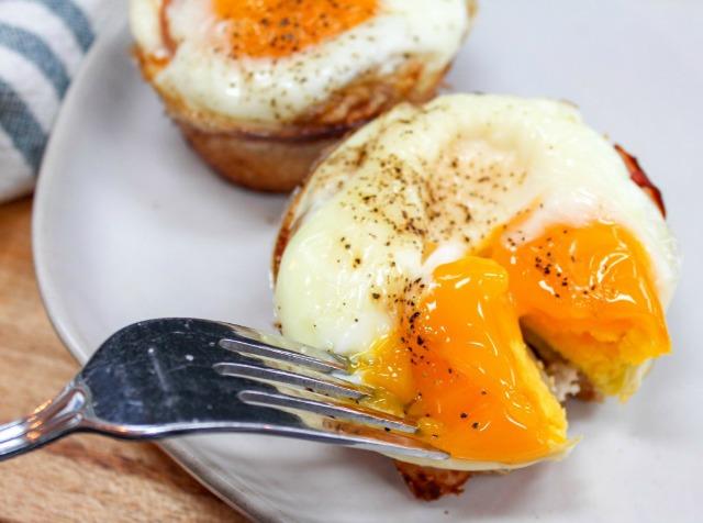 Monte Cristo breakfast food on plate
