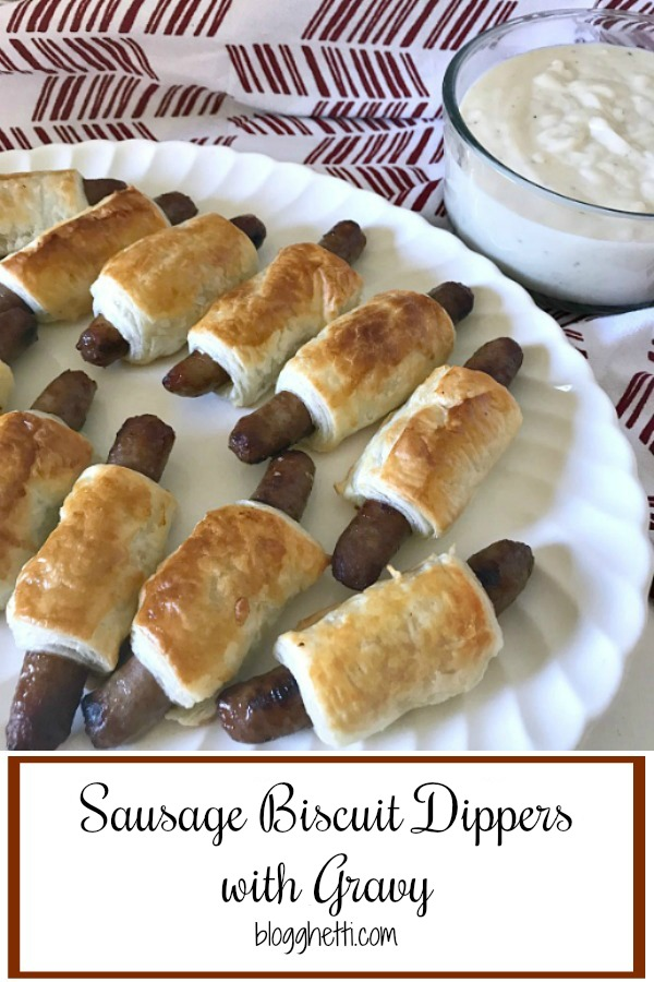 Sausage and Biscuit Dippers - pin
