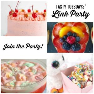 Tasty Tuesdays' Link Party features April 23 -collage