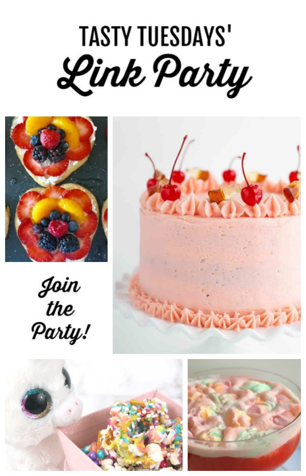 Tasty Tuesdays' Link Party features April 23 - collage