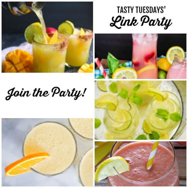 collage of this week's Tasty Tuesdays' Link Party features