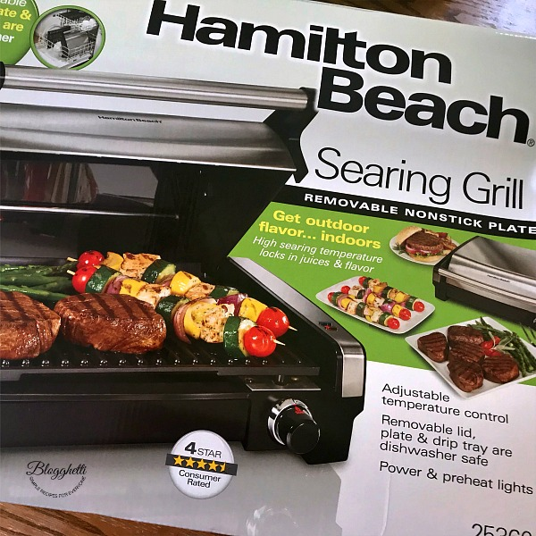 Hamilton Beach Searing Indoor Grill