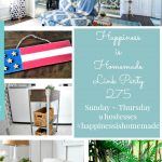 Home Decor Ideas on Happiness is Homemade Link Party