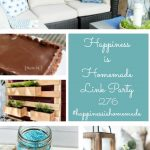 Outdoor DIY on Happiness is Homemade Link Party
