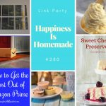 Sweet Summer Treats on Happiness is Homemade Link Party