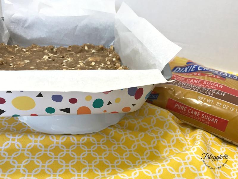 Wilton baking pan with graham cracker crust dough